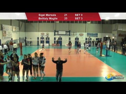 Sigel Marsala vs Betitaly Maglie 0-3