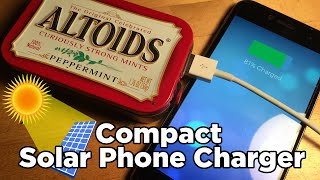 Ben Builds: Make Your Own Solar Powered Phone Charger