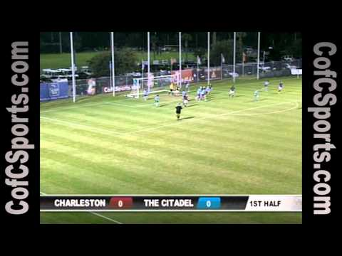 10.27.10 Women's Soccer vs. The Citadel Highlights