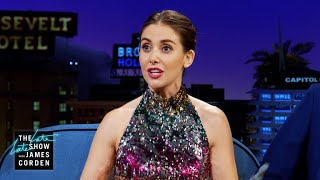 Alison Brie Broke Things at Donald Glover's Apartment