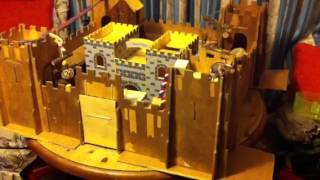 The mice play on the ultimate mouse castle