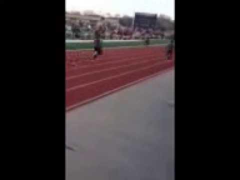 100 Meter Relay Anchor Leg