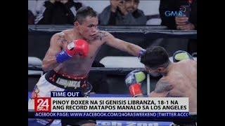 Pinoy boxer na si Genisis Libranza, 18-1 na ang record matapos manalo sa Los Angeles