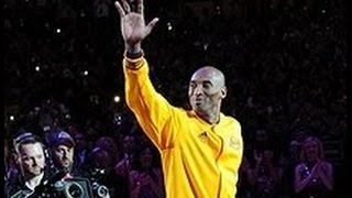 Kobe Bryants Last Game Final Introduction for Lakers