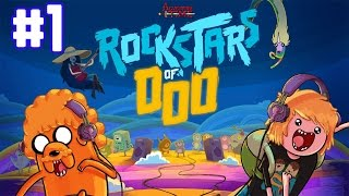 Rockstars of Ooo - Adventure Time Rhythm Game - walkthrough Part 1 (iOS)