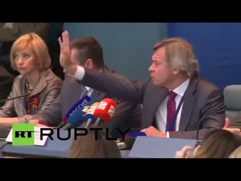 Пресс-конференция А.Пушкова