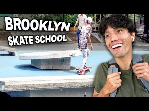 This Brooklyn School is a Skatepark!