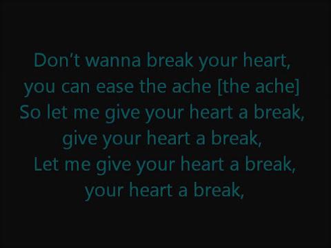 Give Your Heart a Break - Demi Lovato lyrics