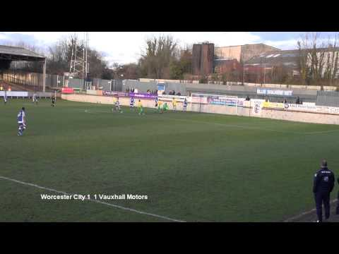 Worcester City v Vauxhall Motors