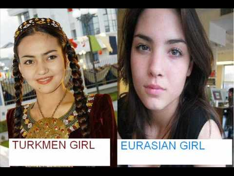 Turkmen,uzbeks,uyghurs Turks Are Eurasians ! video