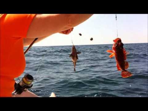 троллинг на красноярском море