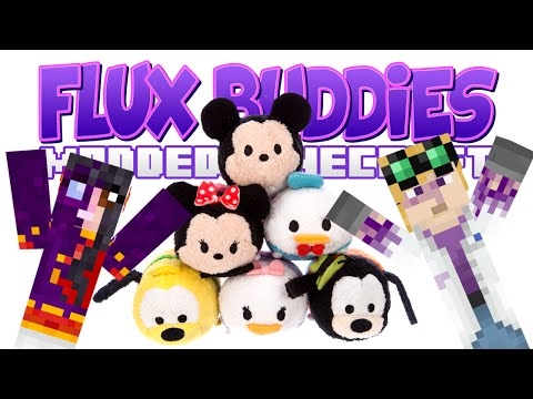 Minecraft - Flux Buddies #143 - Show & Tell (yogscast Complete Mod Pack) video