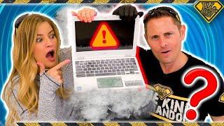 Will Liquid Nitrogen Damage A Laptop?