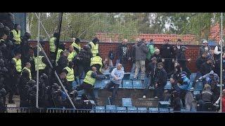 DAC–Slovan: székdobálás, bunyó, gumibotozás – így balhéztak a szlovák ultrák