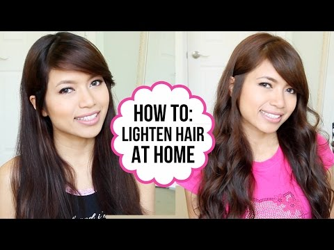 ... Color Light Ash Brown By Using Light Ash Blonde | Dark Brown Hairs