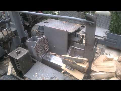 Hidraulicni cepac za drva sa testerom