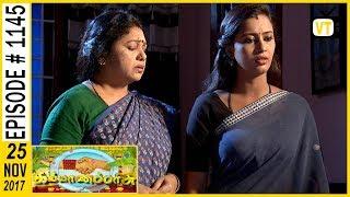 Kalyanaparisu - கல்யாணபரிசு - Tamil Serial | Sun TV | Episode 1145 | 25/11/2017