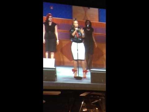 Erica Campbell mini concert