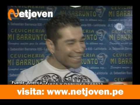 Carlos Barraza quiere solucionar los problemas con Danuzka Zapata