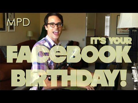♪ FACEBOOK BIRTHDAY ♪ by Matthew Patrick Davis