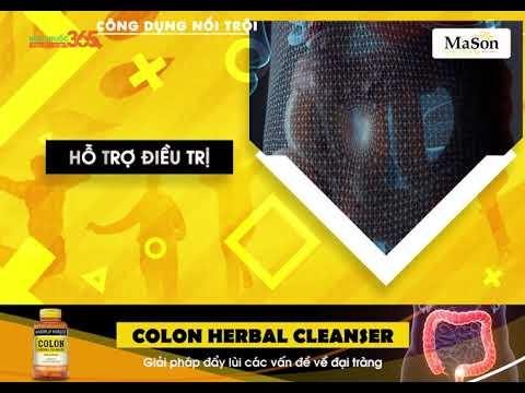 Colon Herbal Cleanser – Giải pháp đẩy nhanh các vấn đề về đại tràng
