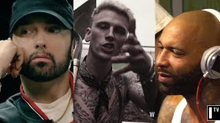 Eminem Responds To Machine Gun Kelly & Joe Budden, Reveals He Has More Unreleased Diss Tracks