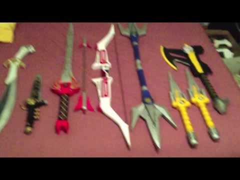 Power Ranger Weapons Review (Cosjoy)