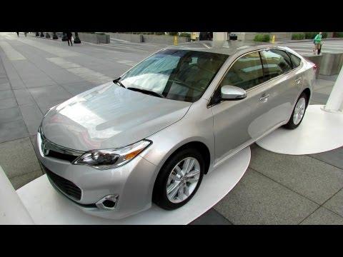 2013 Toyota Avalon XLE обзор - Лос-Анжелес 2012