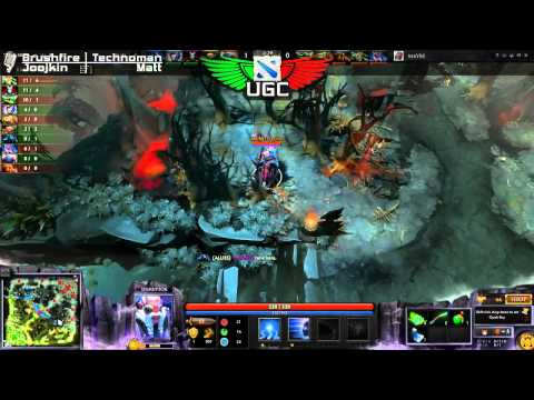 Maybe Win One vs. [X/F] reborn UGC NA Steel Game 1 - Casted by Brushfire