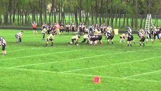 Stuhr 10 yard reception vs. Albert Lea Grizzlies (Game 4, 2014)