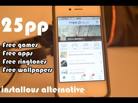 25pp - Get Free Games. Apps. Wallpapers. Ringtones - Amazing Installous Alternative Review
