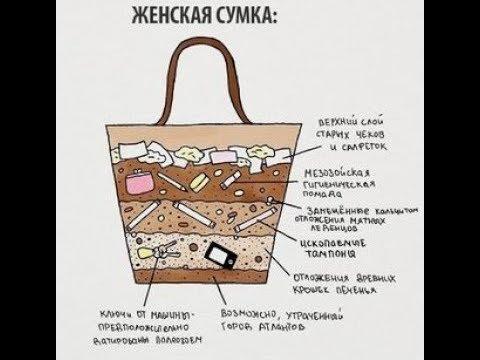 Порядок в женской сумке..Это возможно?!