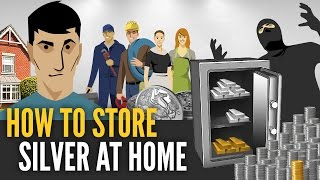 How To Store Silver Bars & Coins At Home - Mike Maloney