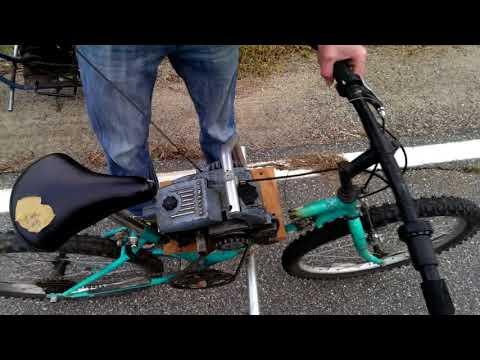 Как сделать двигатель на велосипедах