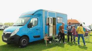 A British Gas Van Becomes the Perfect Family Camper - Luton Conversion From Quirky Campers