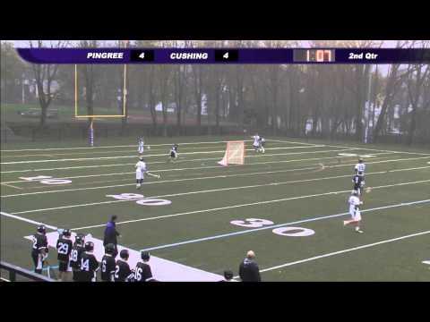 Cushing Academy-Varsity Boys Lacrosse vs. Pingree School - 05/20/2014