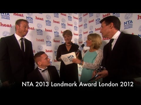Backstage with NTA 2013 Landmark Award London 2012