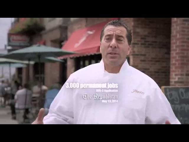 Casino advertising aired to block casino repeal in MA 2014 #1