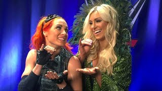 The meaning behind Becky Lynch and Charlotte Flair's handshake explained