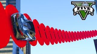 GTA V Online: WALLRIDE VERMELHO BIZARRO! - Corrida INSANA #814