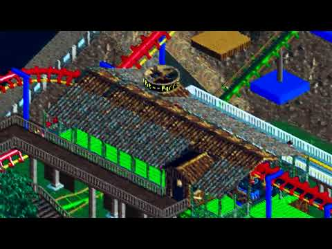 Parrot Flight: Roller Coaster Tycoon 2 Bumbly Bazzar [720p HD]