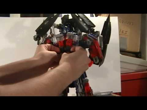 Transformers: Revenge of the Fallen Power-Up Optimus Prime (Optimus/Jetfire Combo) Review