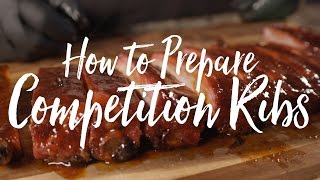 Competition Rib Recipe: St. Louis Spare Ribs