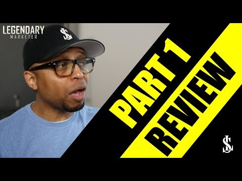 Legendary Marketer Review | How to make money online in 2018 | Part 1