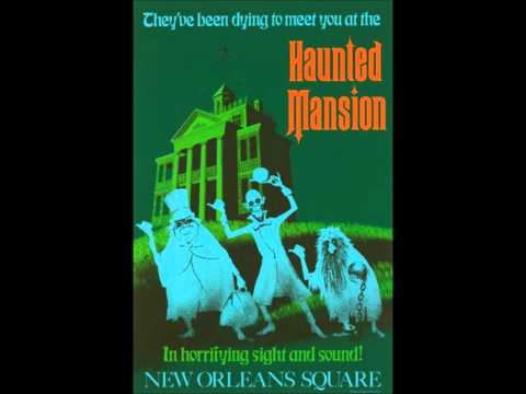 Grim, Grinning Ghosts - The Haunted Mansion (Full Ride Audio)