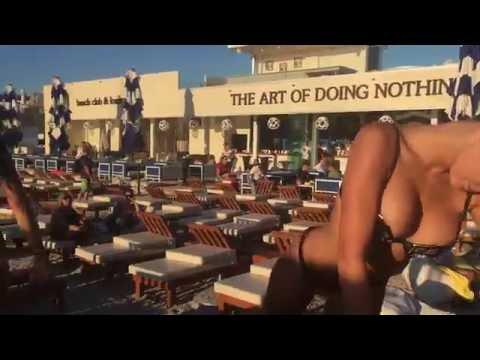 Dj Milana & sexy ladies, Split Croatia day 3 zen beach club 11.08.16