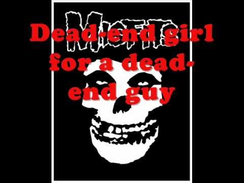 Misfits - Die , Die Die My Darling (Lyrics)
