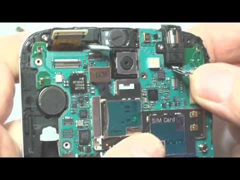 Samsung Galaxy Note II Note 2 N7100 riparazione vetro rotto