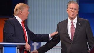 The best of Donald Trump vs. Jeb Bush