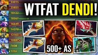 Dendi is Back - Lina 845 Range & attack speed tactic Control the game